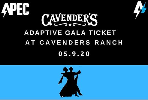Adaptive Gala Ticket