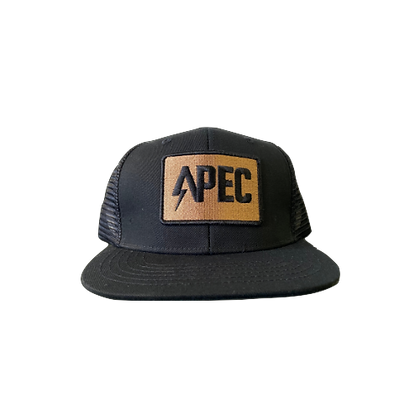 APEC Trucker Hat - Black and Gold