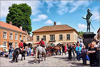 Gamlebyen_Kongens torv, marked m hester_