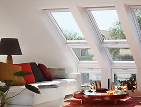 Image of VELUX roof windows in home