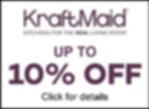 KraftMaid up to 10% off