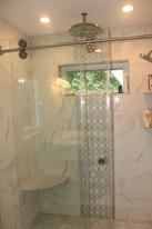 Bathroom designed by Nathan Johnson.