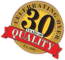 Celebrating over 30 years of quality