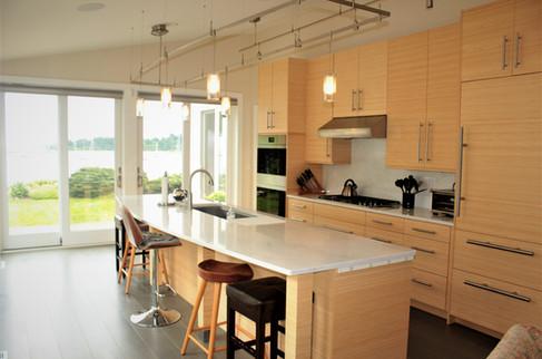 Contemporary kitchen by Patty Heath, Newcastle, NH.