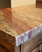 Granite slabs and countertops.
