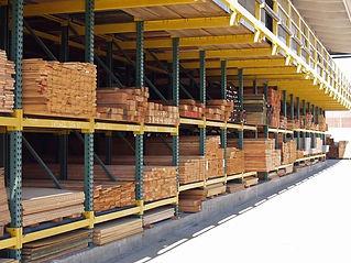 Falmouth Lumber lumber shed