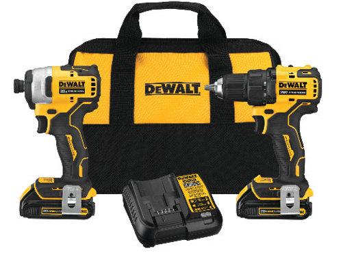 DEWALT  DCK278C2 2-Tool Cordless Combo Kit
