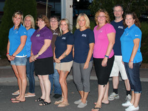 Office Staff: Amanda, Shannon, Lori, Sharon, Erica, Pam, Becki, Mark, Monica