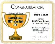 2018 Best Paint Dealer in Orleans County