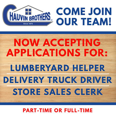 Come join the Chauvin Brothers team