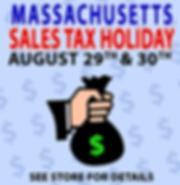 Massachusetts Sales Tax Holiday