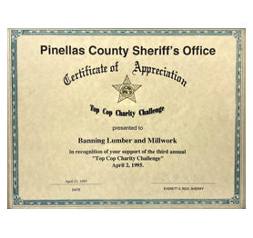 Pinellas County Sheriff's Office - Top Cop Charity Challenge