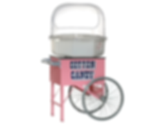 Cotton Candy Machine w/Cart