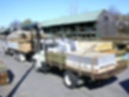 Ricci Lumber delivery trucks