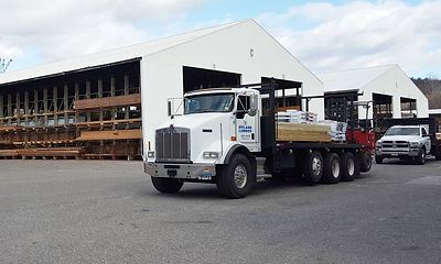 Iffland Lumberdelivery truck