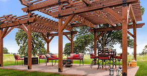 Pergola and Deck Season!