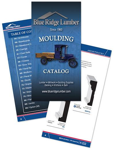Blue Ridge Lumber moulding catalog