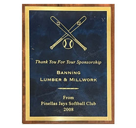 Pinellas Jays Softball Club - Sponsor