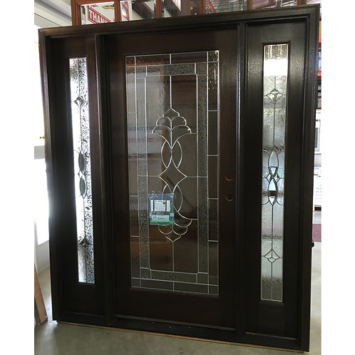 MAI Ambassador Mahogany Wood Door with Sidelights