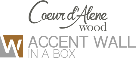 Image of Coeur d' Alene Accent Wall in a Box logo