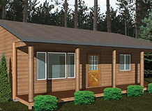 Bernard Building Center - 24x32Ranch Cabin