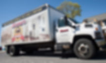 Image of contemporary Cramer's delivery truck.