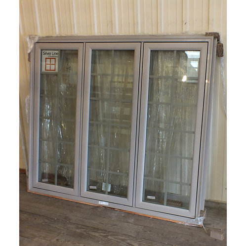 SilverLine Triple Casement Window