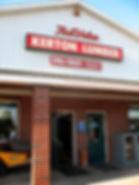 Image of Kerton Lumber storefront.