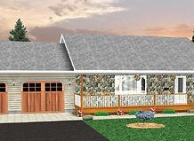 Bernard Building Center - 28x56 Ranch with Garage