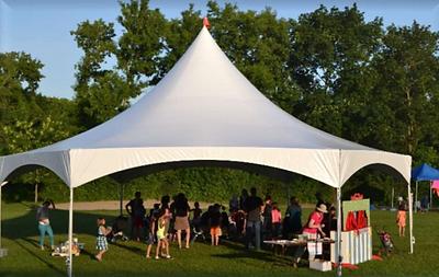 40' Hexagon Tent Canopy
