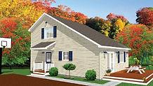 Bernard Building Center - 24x30 Salt Box House