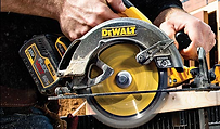 Image of saw in use.