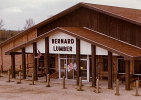 Bernard Building Center - History