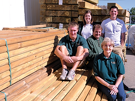 Image of Kerton Lumber family members.