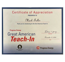 Progress Energy - Great American Teach-In