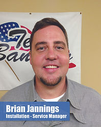 Brian Jannings - Installation - Service Manager