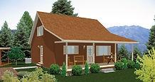 Bernard Building Center - 28x28 Rustic Retreat