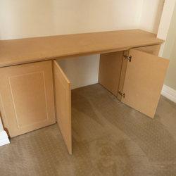Bare MDF Desk