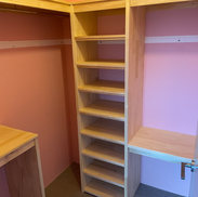 Solid Timber Robe Fit Out