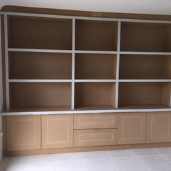 Bare MDF Bookcase