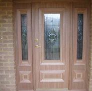 Entry Door and Side Panels