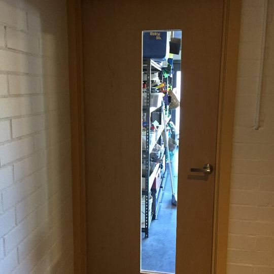Door With Viewing Window