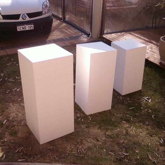 Artwork Plinths