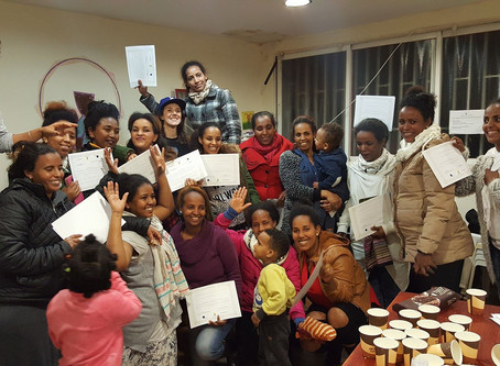 Graduation for Hairdressing Course