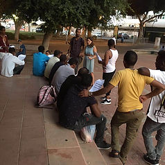 legal rights outreach in Ashdod, Israel