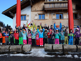 Kinderschikurs vom 08. bis 11. Februar 2014