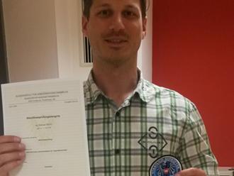 Gratulation! Andreas Partl ist D-Trainer!