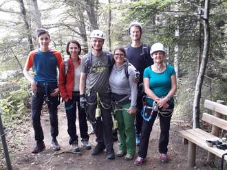 Klettersteig Känzele am Samstag, 18.05.2019, Bregenz
