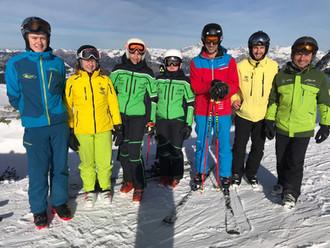 Skiinstruktor Anwärter Kurs am Hochjoch erfolgreich bestanden!