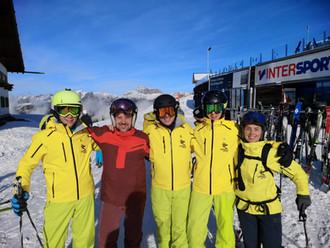 Skiinstruktor Anwärterkurs bestanden!
